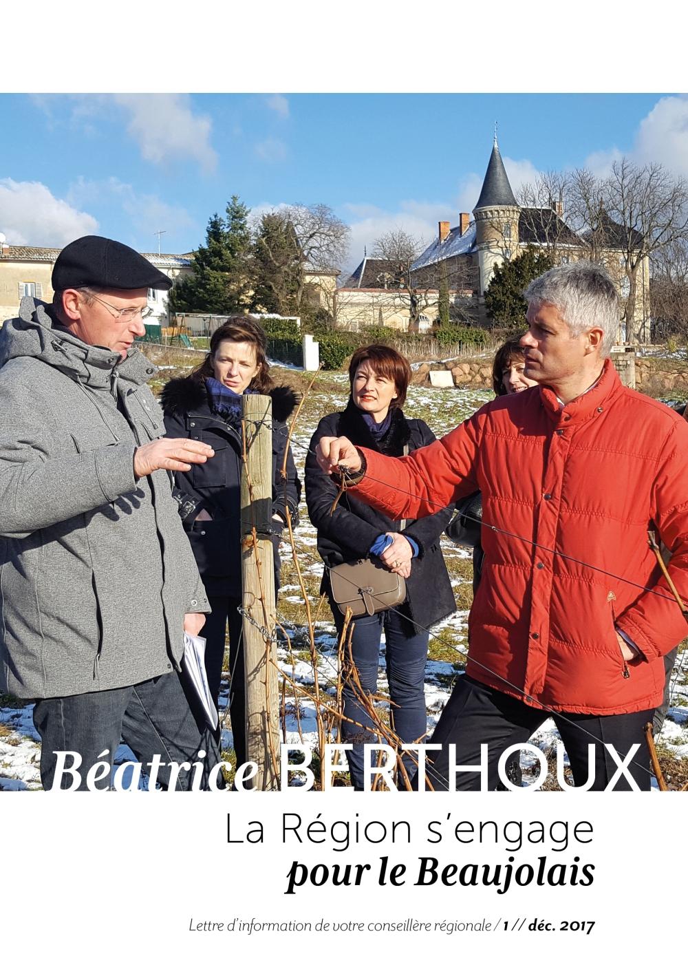 La Lettre de Béatrice Berthoux- Dec2017